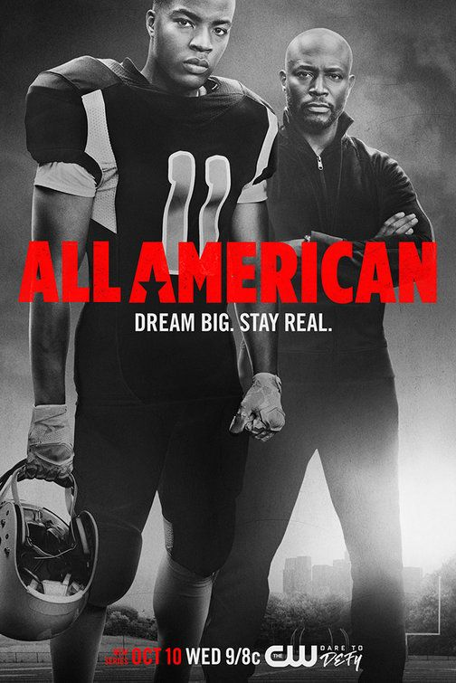 All American Movie Poster American Tv Show American Series Tv Series On Netflix