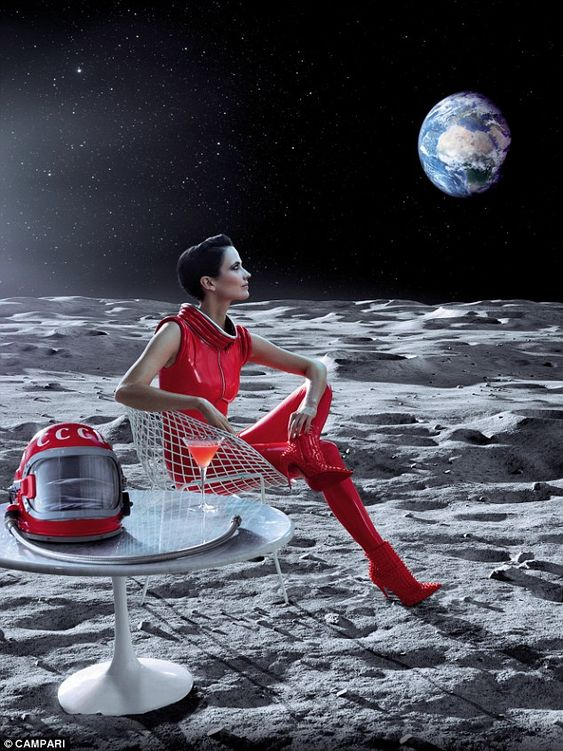 Out of this world: Fine art photographer Julia Fullerton-Batten came up with unusual concepts for each shot
