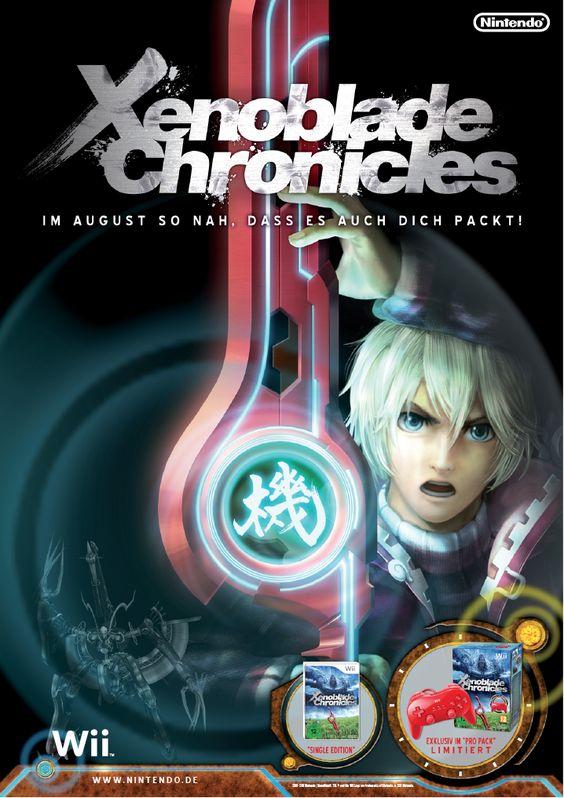 Anzeige für Xenoblade Chronicles