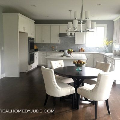 A Round Table Encourages Conversation And Laughter And The Generous Size Of Our X Base Ta Open Plan Kitchen Living Room Dining Room Design Living Room Kitchen Living room and kitchen means
