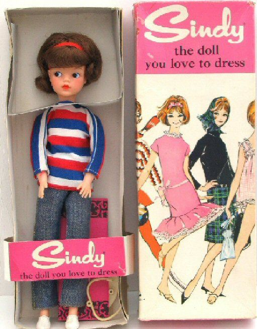 I was so excited to get my Sindy..she arrived just like this..I still have her ..in these clothes..I don't have the box sadly...