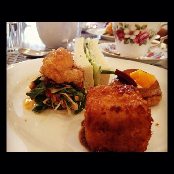 First course of High Tea at Rochelle Adonis