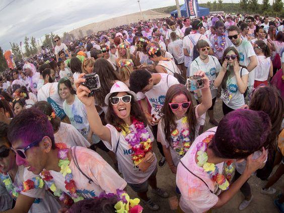 QLIO.ORG - FOTOS: Holi Run Zaragoza 2015 Puerto venecia holirun