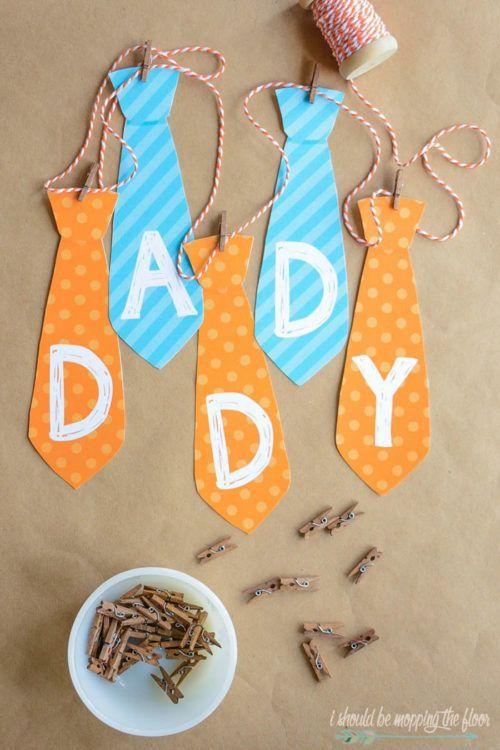 Vaderdag Knutselen 33x Cadeau Maken Voor Papa Met Baby