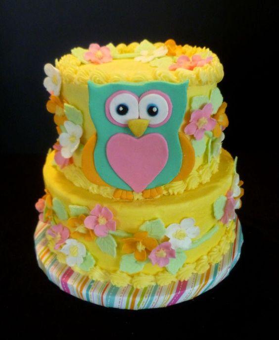 Owl Cake By Yvonne, Twin Cities, MN, Www