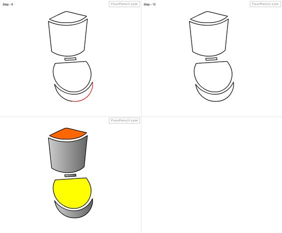 How to draw Bathroom for kids step by step drawing tutorial  draw Bathroom  for kids. How to draw Bathroom for kids step by step drawing tutorial  draw