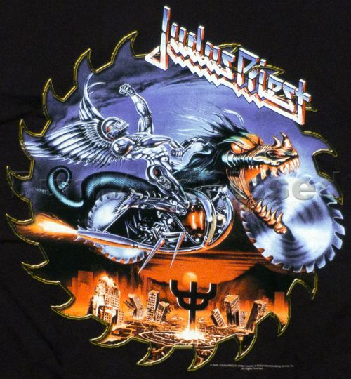 Judas priest t shirts and shirts on pinterest for Painkillers for tattoos