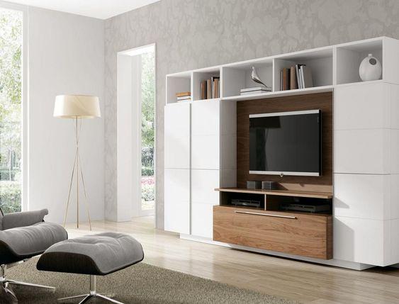 Mueble comedor tv moderno ginza 13s a brito muebles for Mueble y decoracion