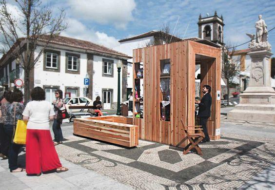 """The """"PopCraft Kiosk"""",Courtesy of André Vieira, Flávio Serpa, Carlos Vieira e do Centro Regional de Apoio ao Artesanato dos Governo Regional dos Açores"""