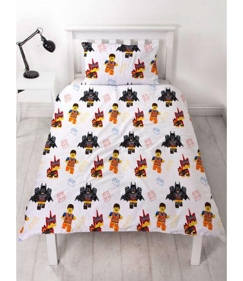 LEGO Single Duvet Cover and Pillowcase