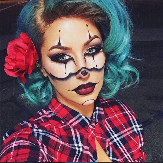 Resultado de imagem para maquiagens para halloween mr joker
