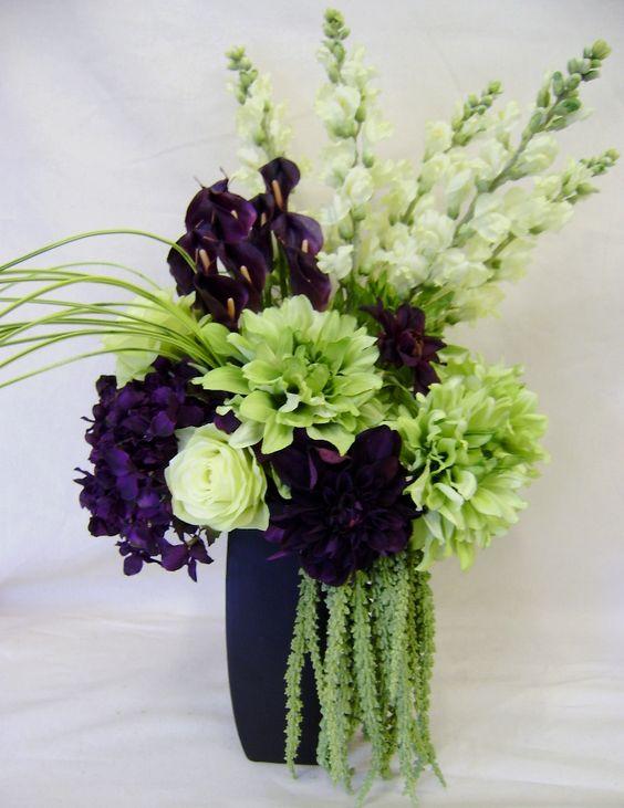 Floral Arrangements Unique And Dahlias On Pinterest