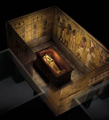 ancient history tutankhamuns burial chamber A look inside howard carter howard carter had spent the last thirty years digging around egypt for ancient carter's team entered the burial chamber to.