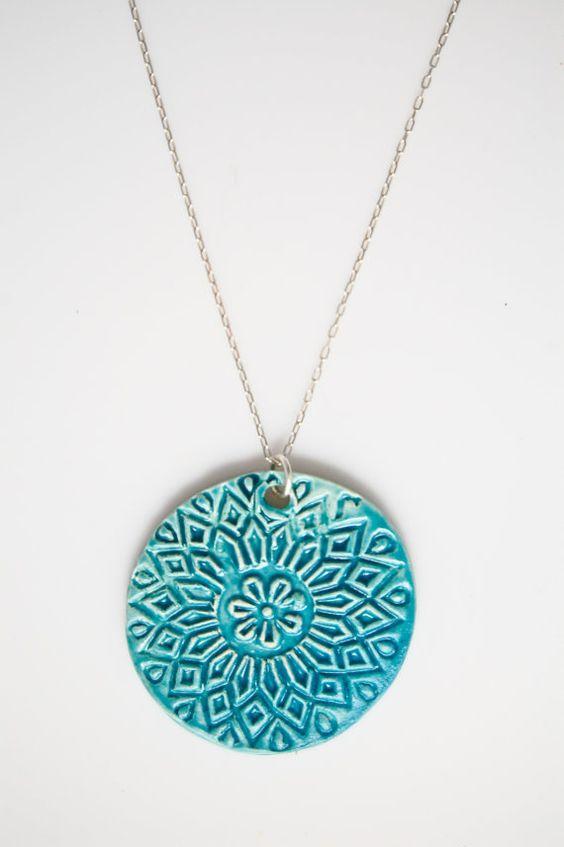 Ambrosia Ceramic Necklace