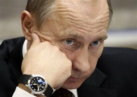 Resultado de imagen para Vladímir Putin y su Blancpain Grande Date Flyback