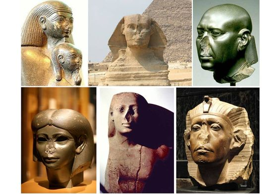 Why are Noses Missing from so Many Egyptian Statues ...
