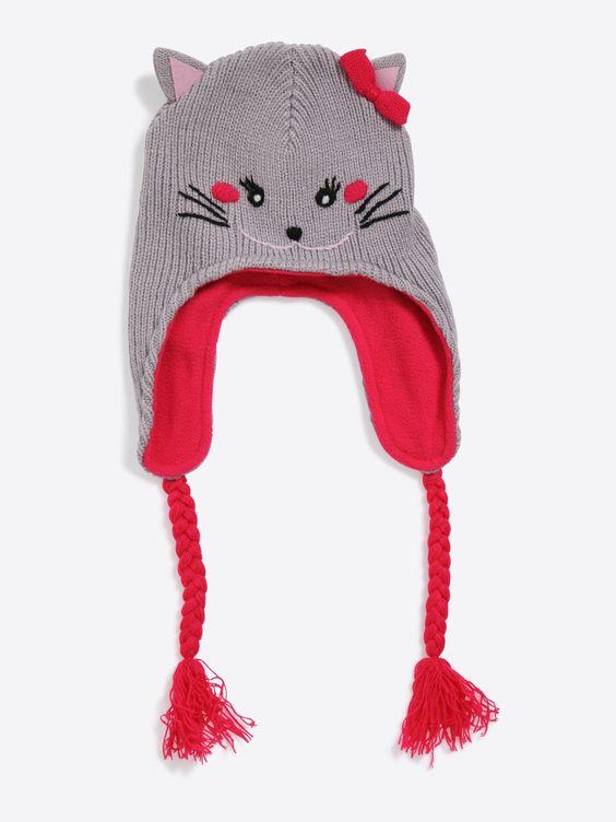 bonnet p ruvien petit chat b b fille chapeau et snood pinterest. Black Bedroom Furniture Sets. Home Design Ideas