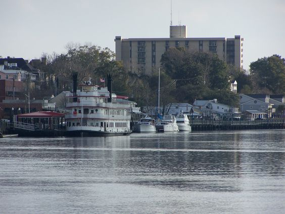 On the waterfront in Wilmington, North Carolina.