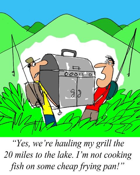 Sunday Morning Grilling Comics October 20, 2013  http://www.cooking-outdoors.com #Grilling #comics: