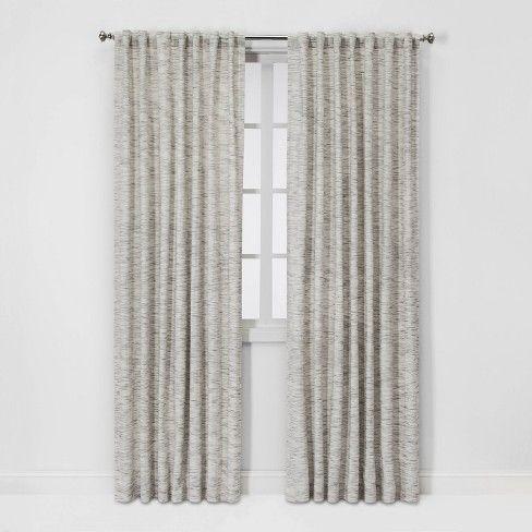 Striation Herringbone Light Filtering Curtain Panels Project 62