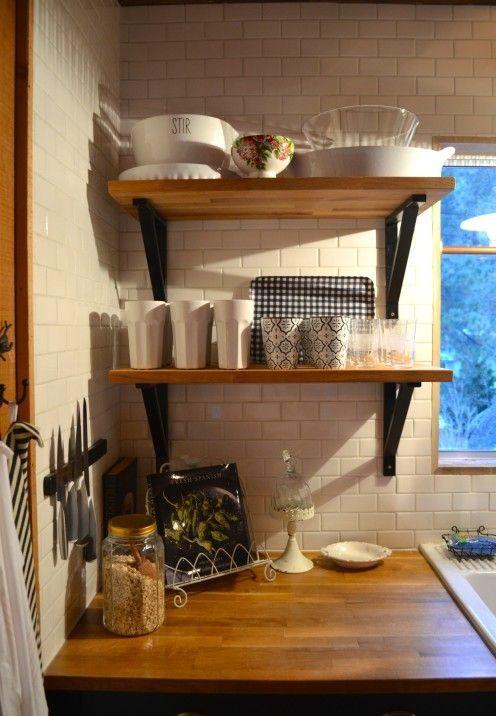 My Log Cabin Kitchen Renovation Log Cabin Kitchens Kitchen Remodel Small Cabin Kitchens
