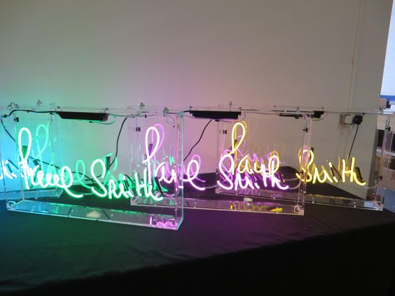 paul smith neon sign