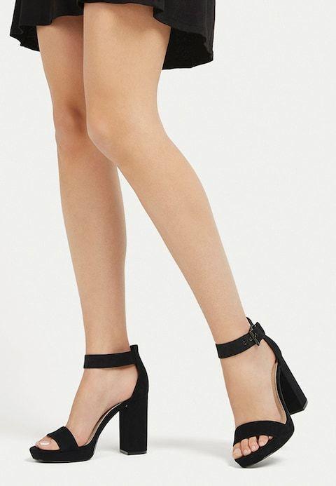 Super MIT SCHNALLE - Sandalen met hoge hak - black @ Zalando.be 🛒 (met GM-63