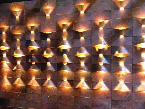 LUM Applique en cuivre by Quasar design Estefania Johnson