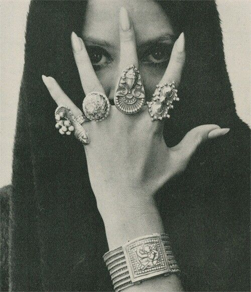 nails. jewelry. her.
