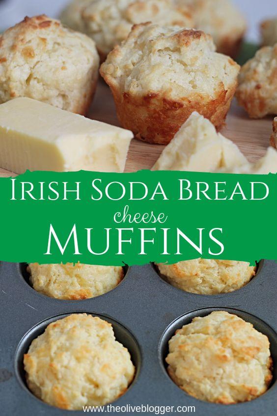 Soda Bread Muffins with Irish Cheddar