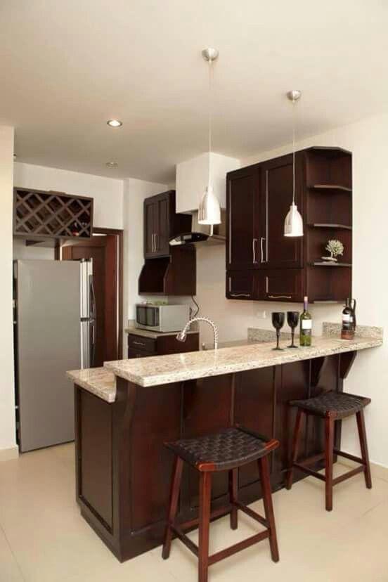 Ideas De Barras Desayunadoras Para Tu Cocina Http Cursodeorganizaciondelhogar Com Ideas D Decoracion De Cocina Decoracion De Cocina Moderna Muebles De Cocina