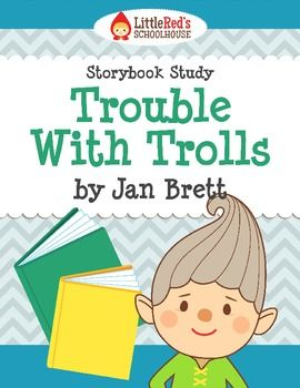 Trouble with Trolls by Jan Brett Story Study Lesson Plan a