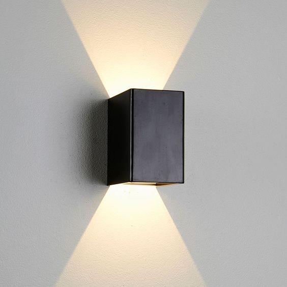Design belysning as   birk led vegglampe   vegglamper ...