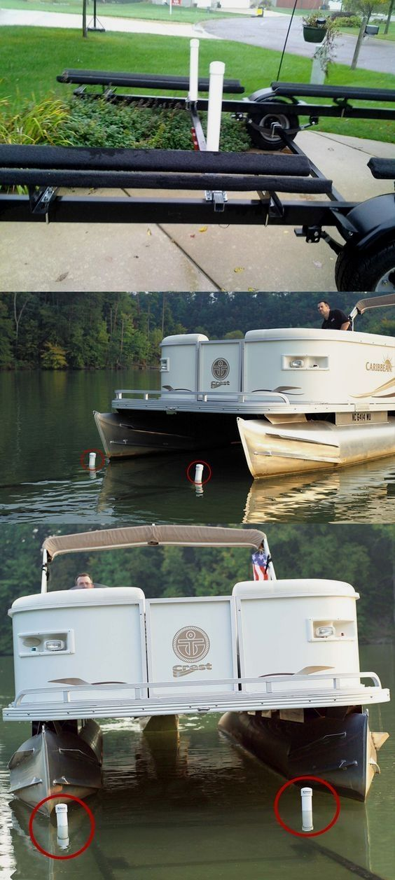 Some Boat Trailer Accessories That Will Make Your Life A Little Bit Easier These Post Style Guide Ons For P Pontoon Boat Accessories Pontoon Boat Boat Trailer