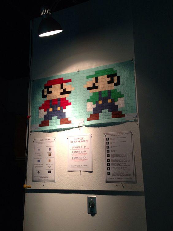 Luigi and Mario on display at VIVO | Flickr - Photo Sharing!
