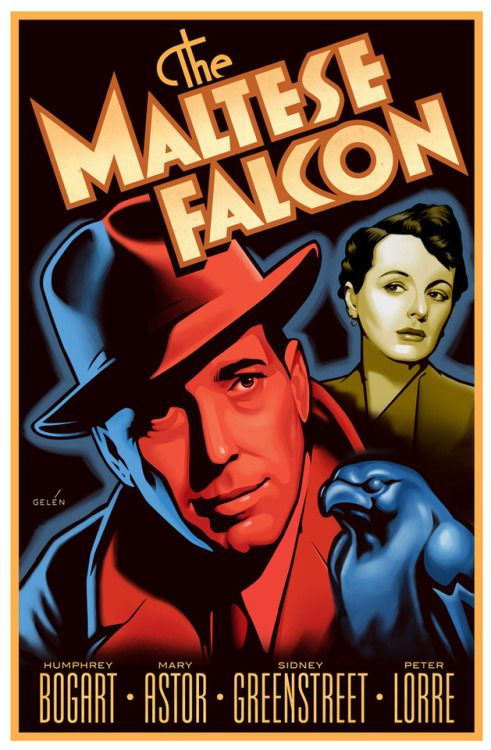 Resultado De Imagem Para The Maltese Falcon John Huston Movie Poster Maltese Falcon Movie Classic Movie Posters Movie Posters Vintage