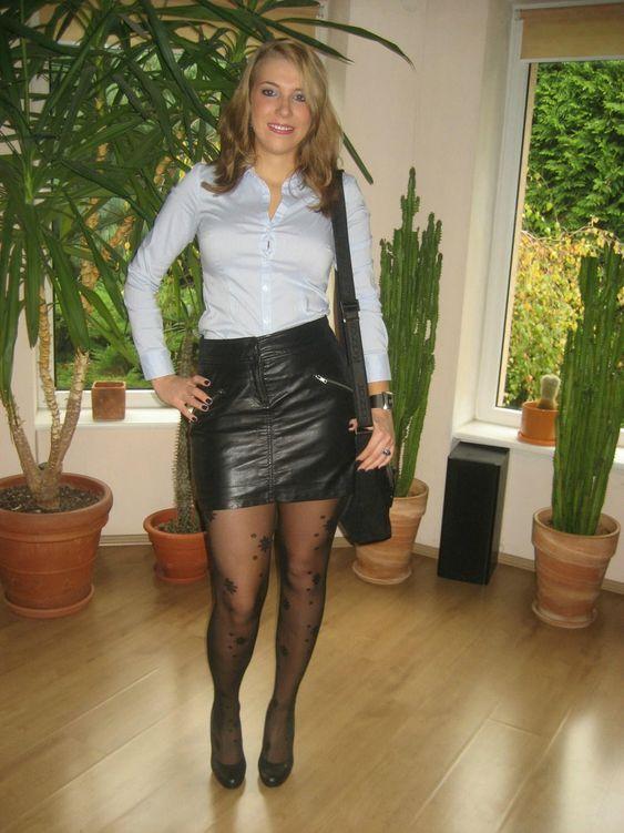 White Sexy Leather Porn 32