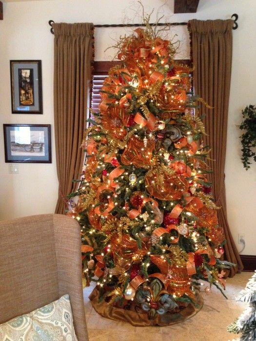 orange Christmas tree | Christmas! | Pinterest | Trees ...