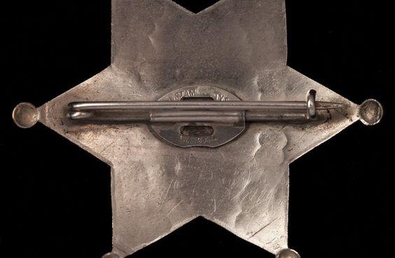 Accessoires - John Wayne - Rio Bravo - 1959 - Etoile de Shérif