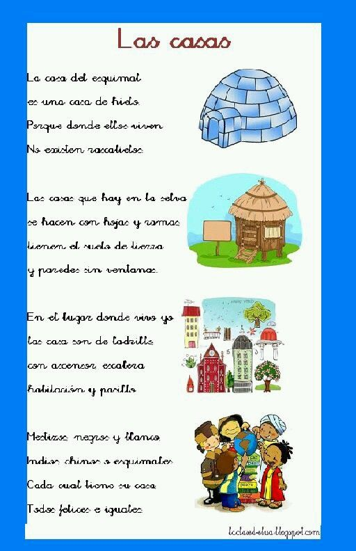Pin De Deni Rios En Preescolar Poesía Para Niños Poemas Para Niños Poemas Infantiles