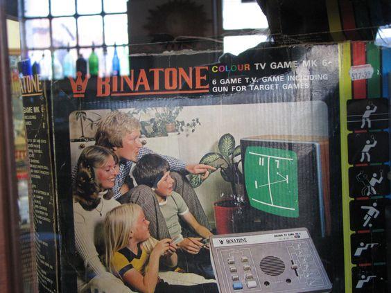 Magnavox Binatone Colour tv game Mk6