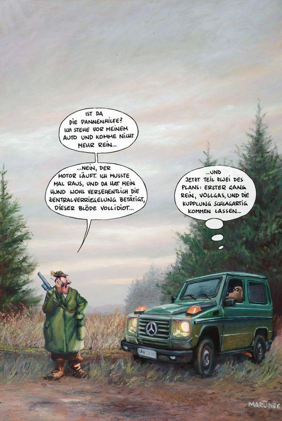 Freizeit-MARUNDE | Cartoons & Illustrationen von Wolf-Rüdiger Marunde