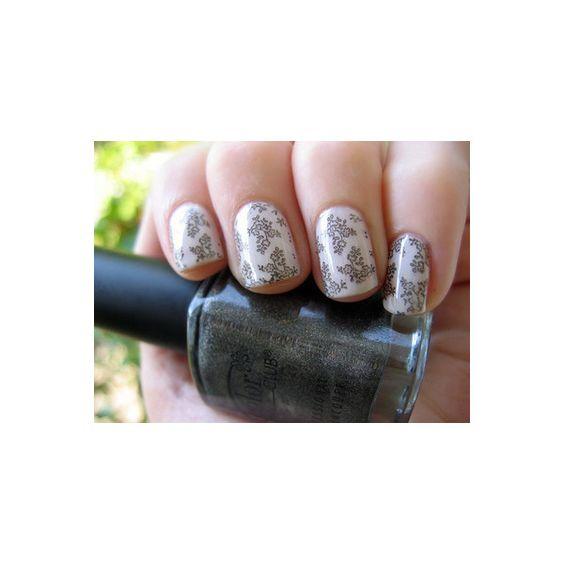 nail art | Tumblr found on Polyvore