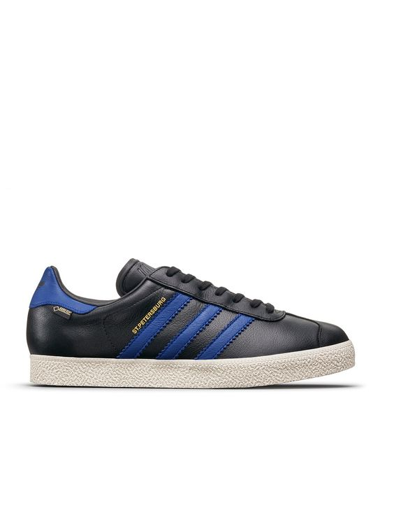 adidas originals footwear gazelle st petersburg gore-tex - black