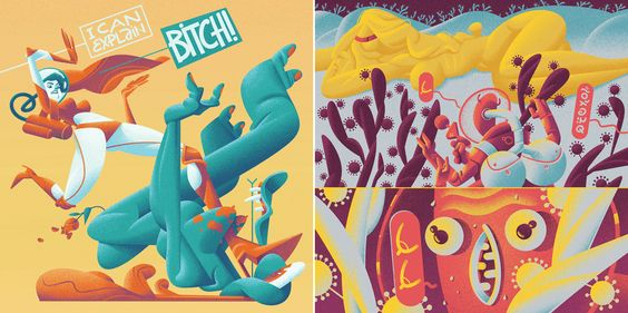 Illustrations 2015 on Behance