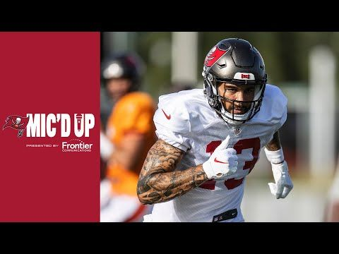 Mike Evans Mic D Up At Bucs Training Camp Scrimmage Youtube In 2020 Mike Evans Tampa Bay Buccaneers Training Camp