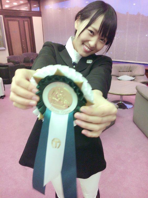 入賞の菅井友香