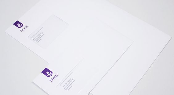 Briefumschlag Kuvert Corporate Design