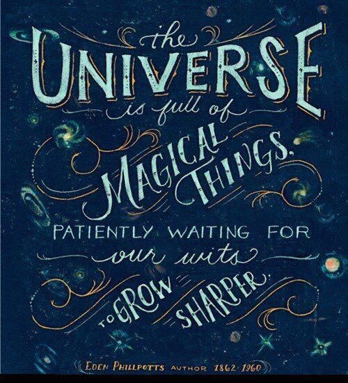 magical universe....