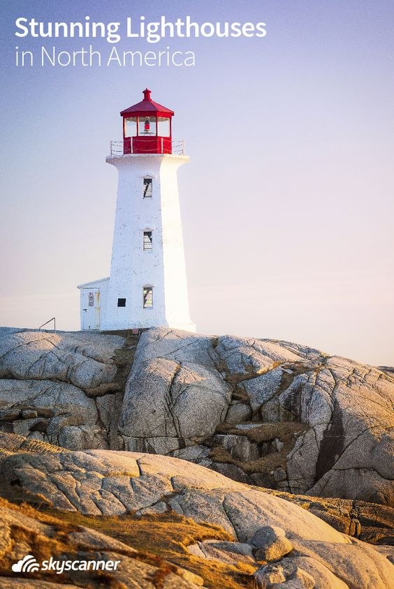 Some of the most beautiful scenery in the world is dotted by lighthouses. Here are some spectacular lighthouses across North America.